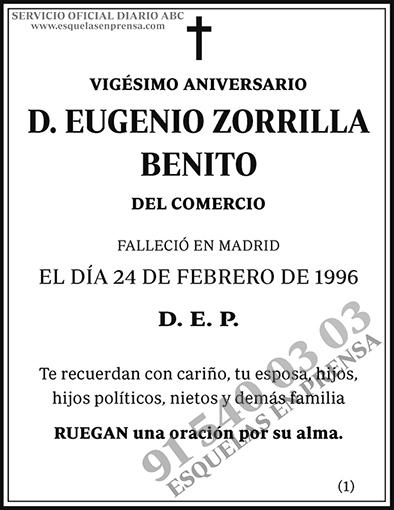 Eugenio Zorrilla Benito